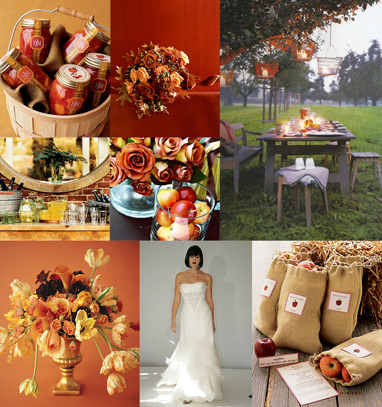 Today I have a roundup of beautiful fall wedding boards inspired by the