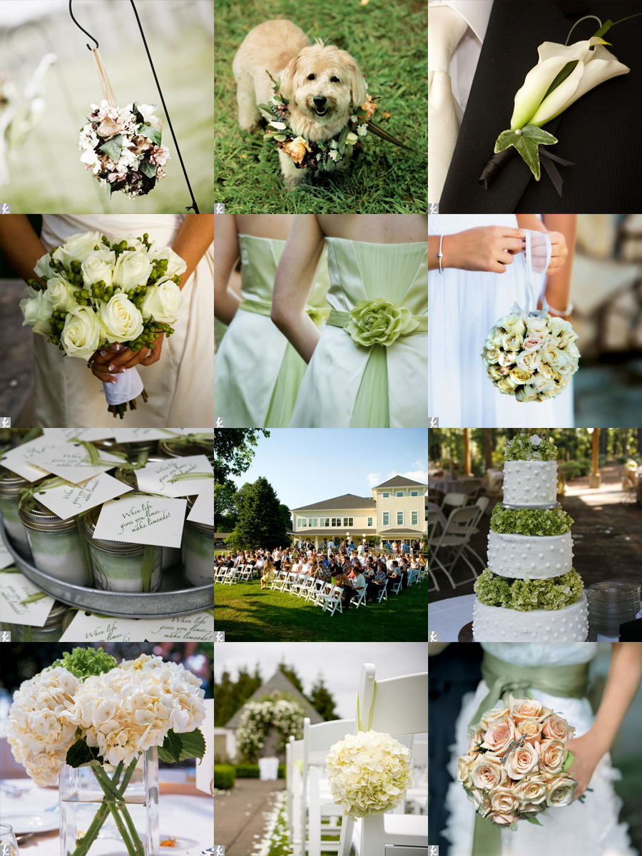 pretty garden weddings white soft green and blush elizabeth