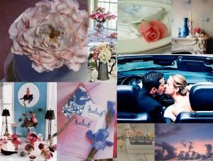 Cornflower-Blue-Pink-Wedding-Inspiration-Board