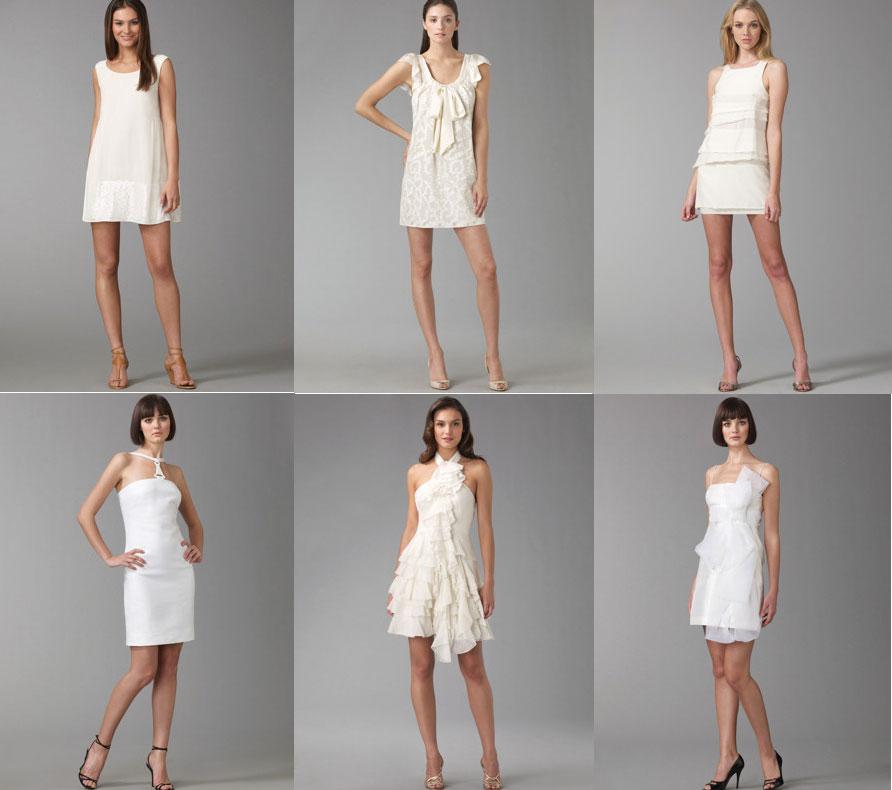 The Mini Wedding Dress - Elizabeth Anne Designs: The Wedding Blog