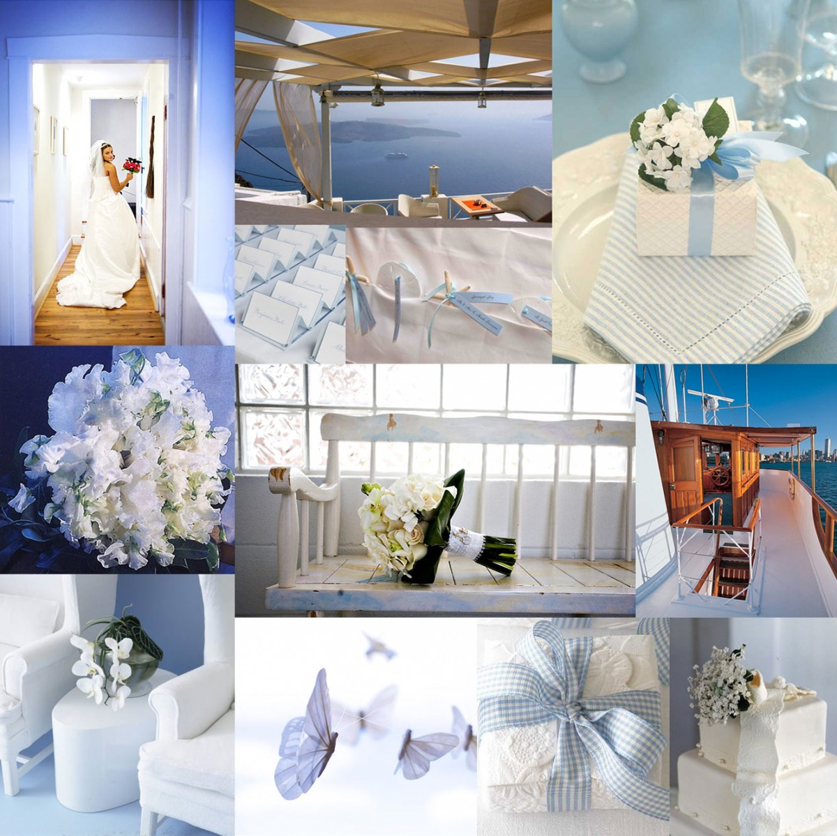 Ocean Blue and White - Elizabeth Anne Designs: The Wedding Blog