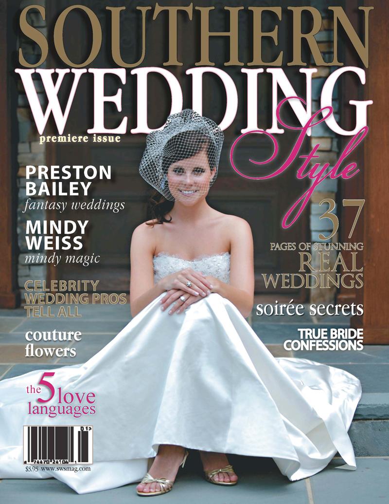 southern wedding style magazine