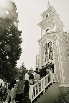 rustic chapel