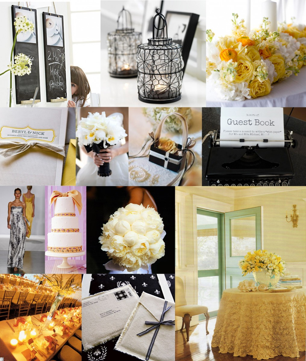 Yellow And White Wedding Theme Ideas Awesome Black Sandy S Party
