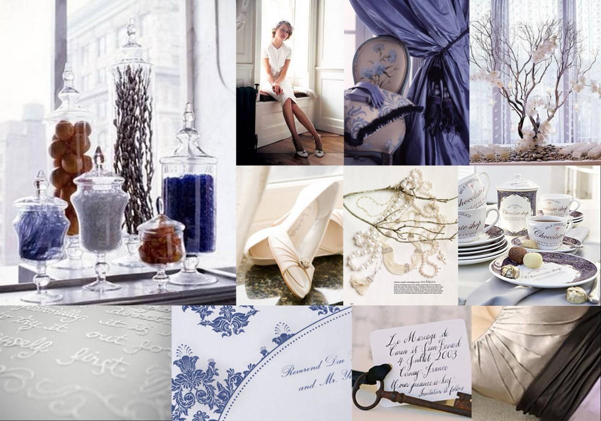 Icy Purple and White - Elizabeth Anne Designs: The Wedding Blog