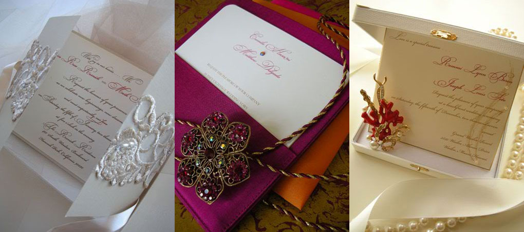 embellishments couture invitations