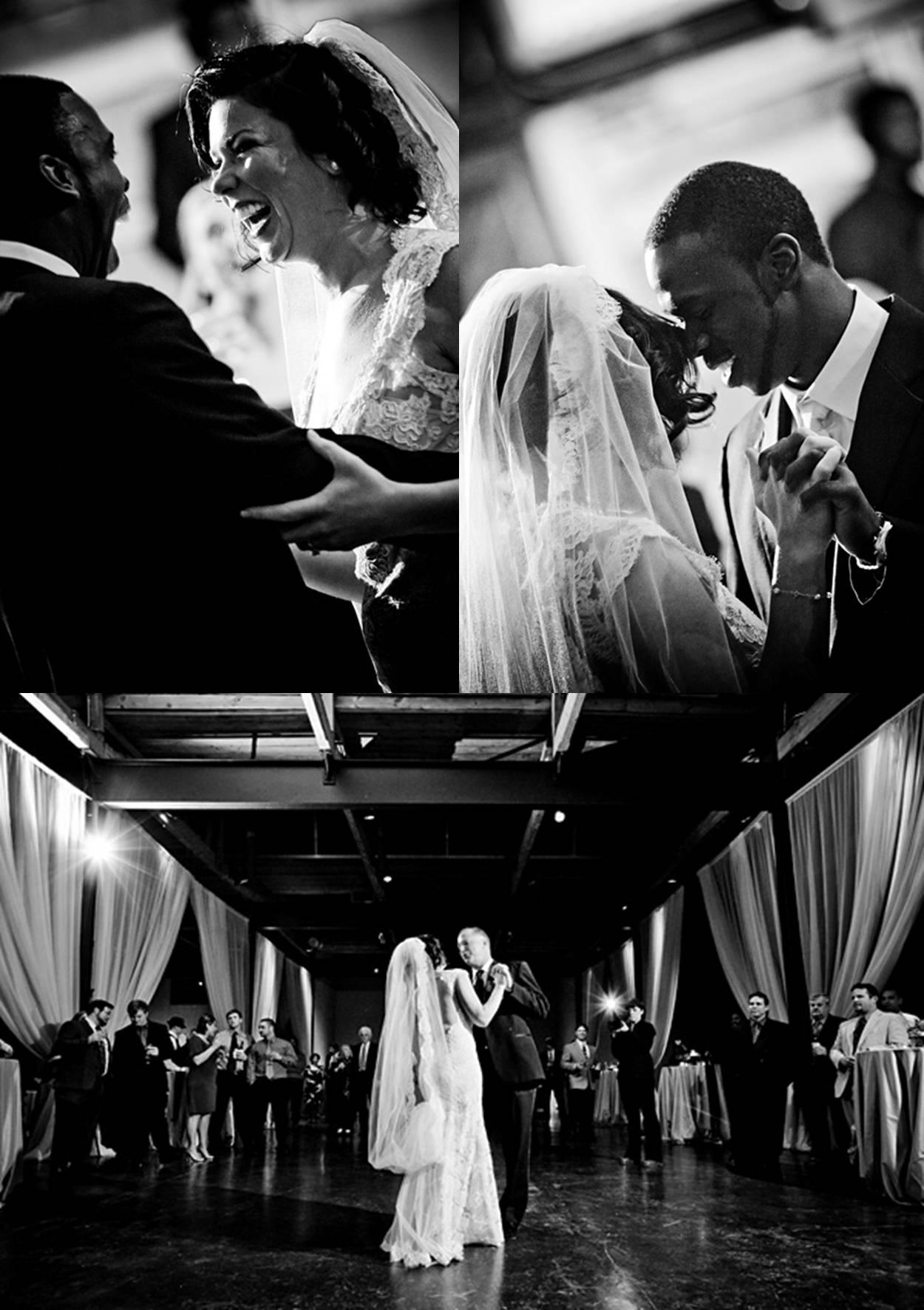 reception first dance dance floor
