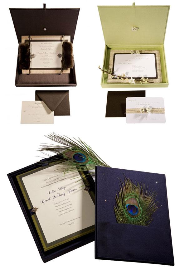 rock paper scissors couture wedding invitations