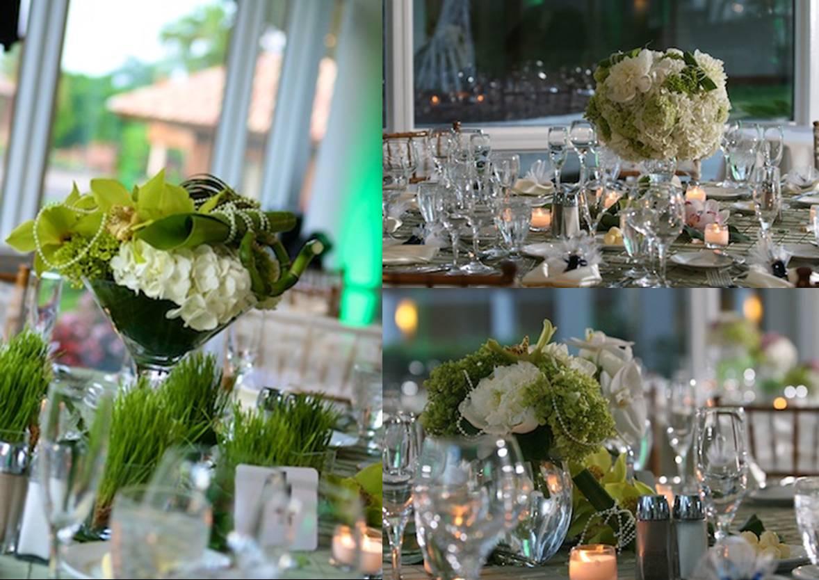 reception floral details