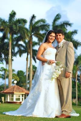 doral bride and groom