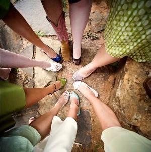 mismatched-bridesmaids-shoe-shot