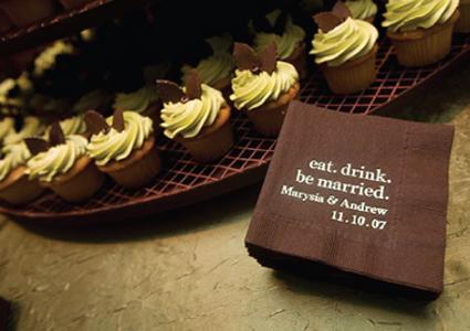 gocco cocktail napkins