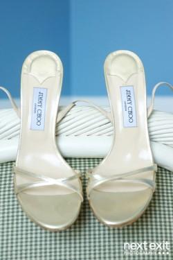 Gold-Jimmy-Choo-Shoes