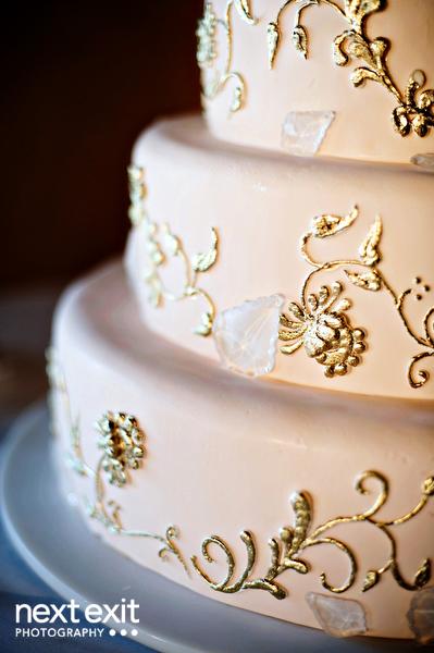 Scroll Cake Designs