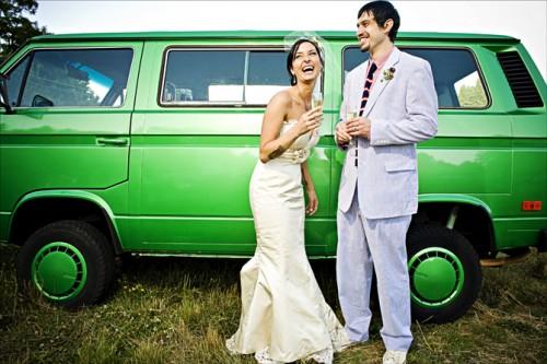 Wedding-Portraits-Vintage-VW-Bus