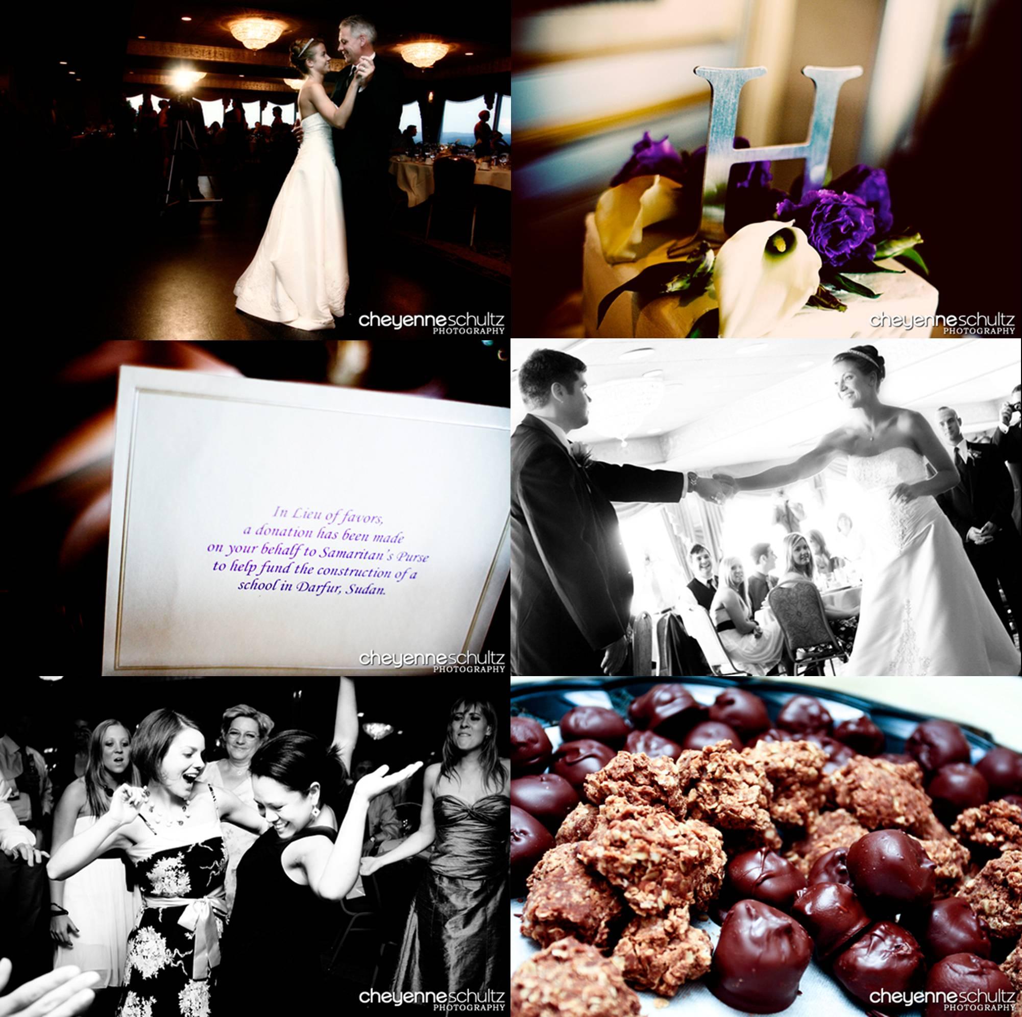 Real Weddings Blog: Real Weddings: Joy + Matt 6.8.2008