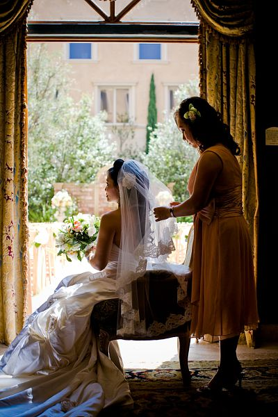 custom made bridal veil