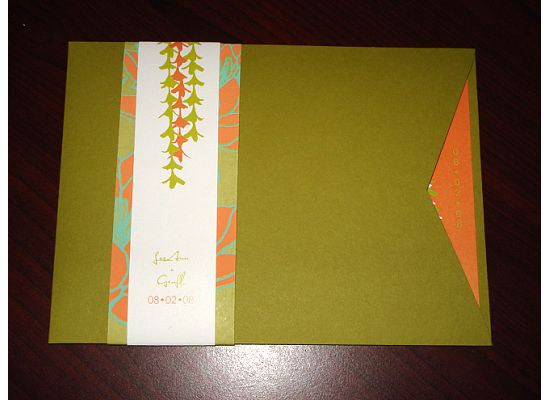 white aisle wedding invitations