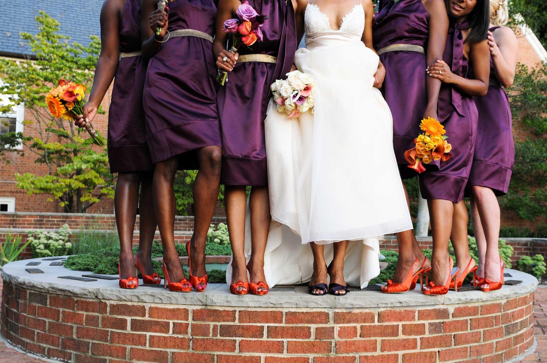vera wang bridesmaids