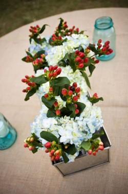 Hydrangea-and-Berry-Centerpiece