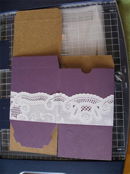 doily favor boxes