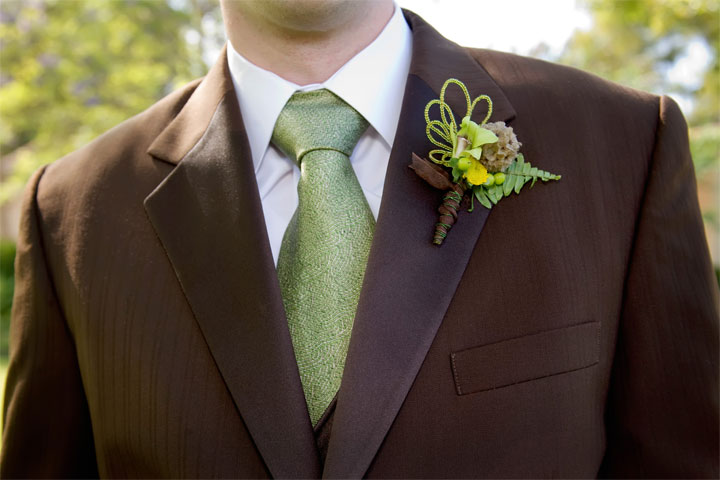 dragonfly boutonniere