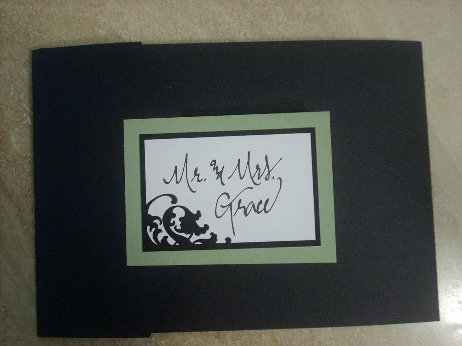 DIY Entry #5: Tri-fold Invitations - Elizabeth Anne Designs: The Wedding  Blog