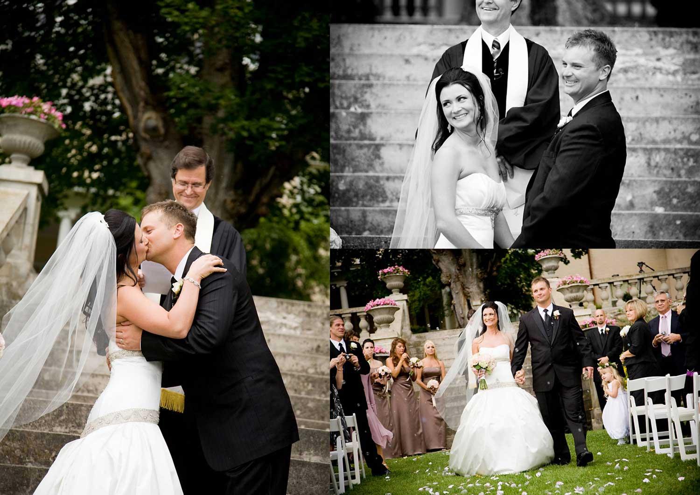 Real Weddings Zola: Real Weddings: Desiree + Travis 9.20.08