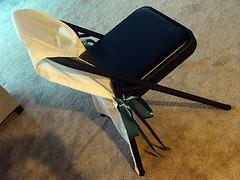 Diy Folding Chair Covers Elizabeth Anne Designs The Wedding Blog