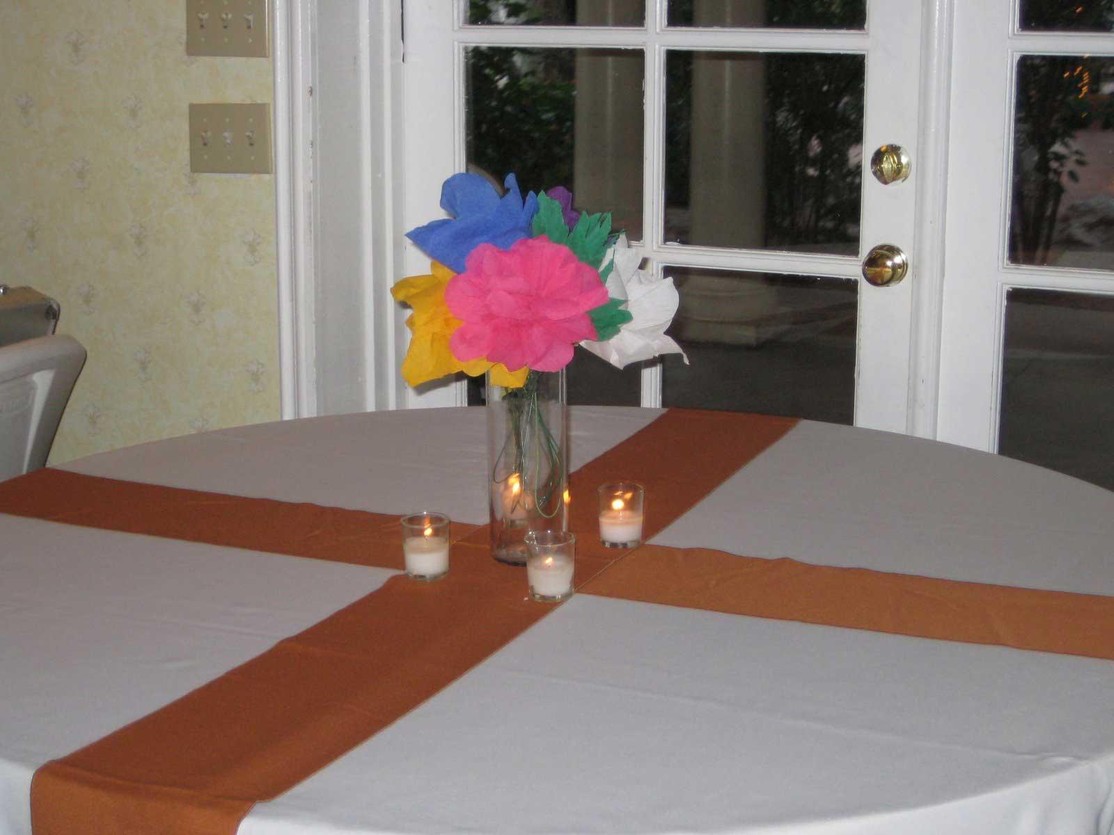 Diy Entry 24 Paper Flower Centerpieces Elizabeth Anne Designs