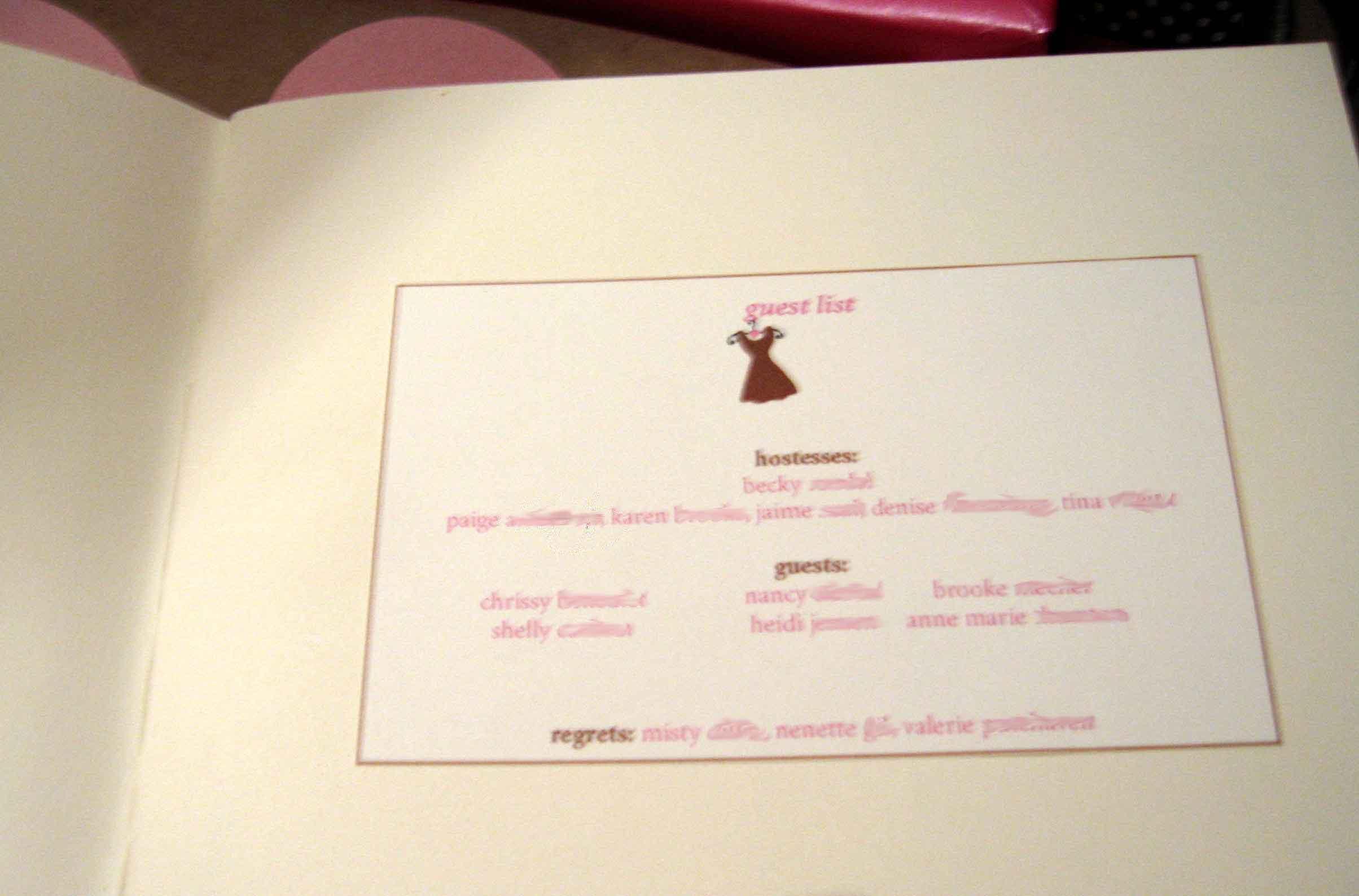 Luxury Bridal Shower Memory Book Ideas