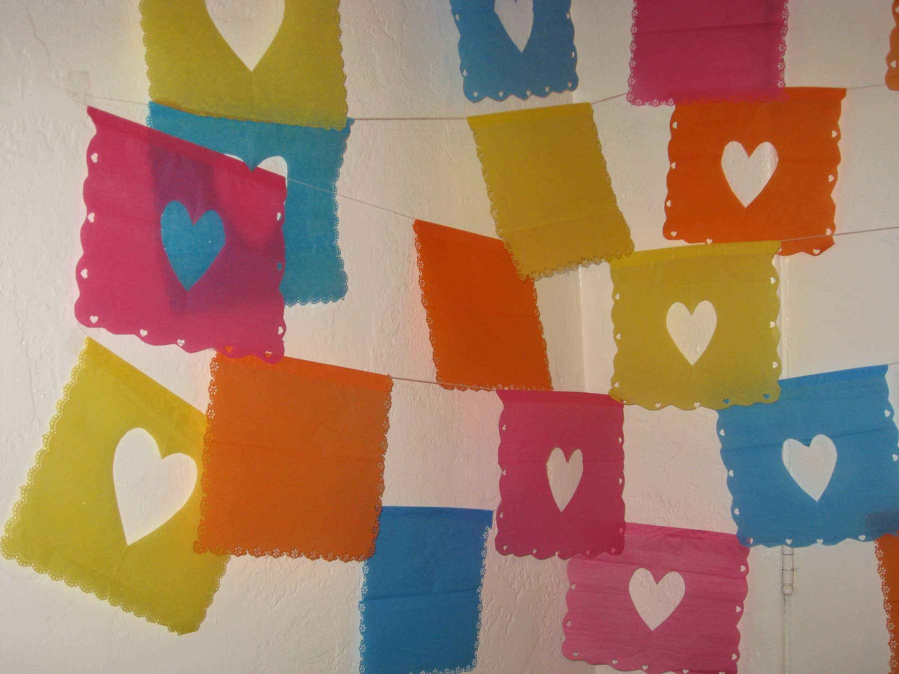 diy tissue paper banners