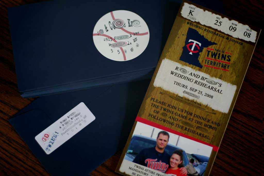 DIY Entry 18 Baseball Ticket Invites Elizabeth Anne Designs The