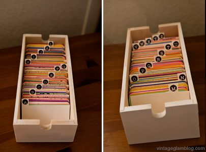 seating card rolodex