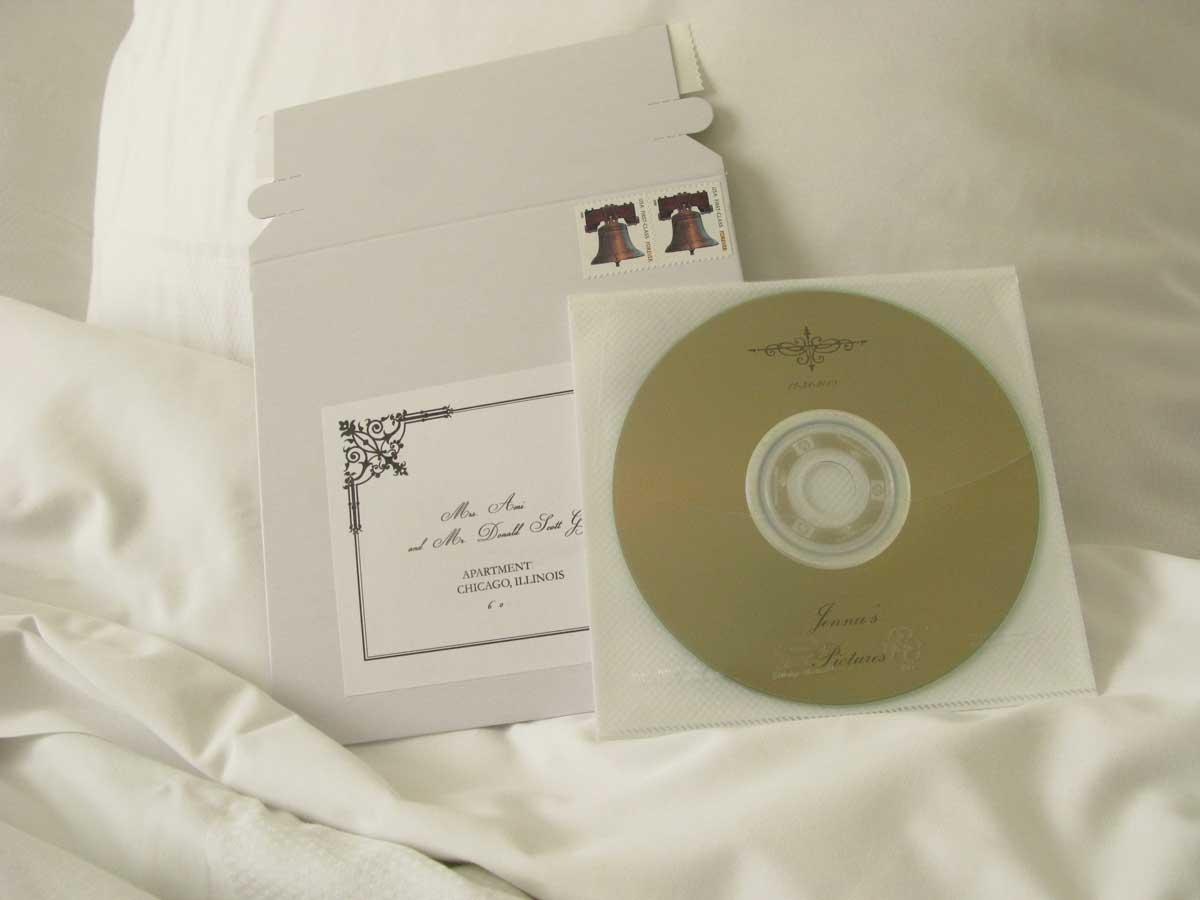 lightscribe printed cd