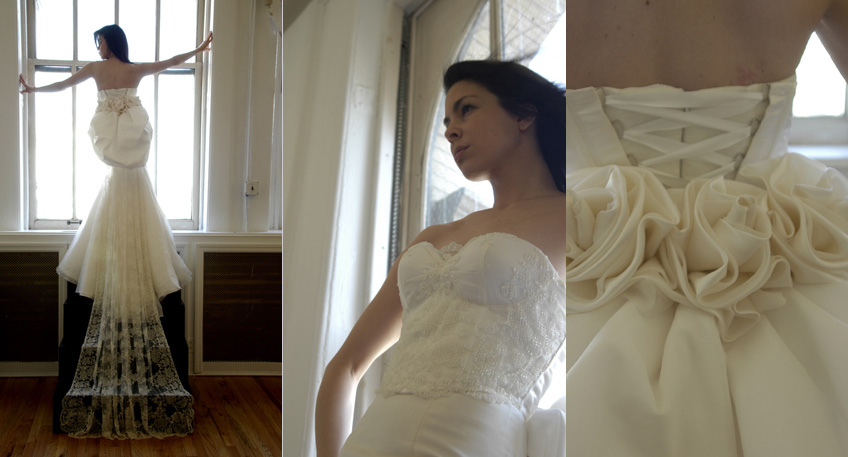 wedding blog johnna ho dress bride