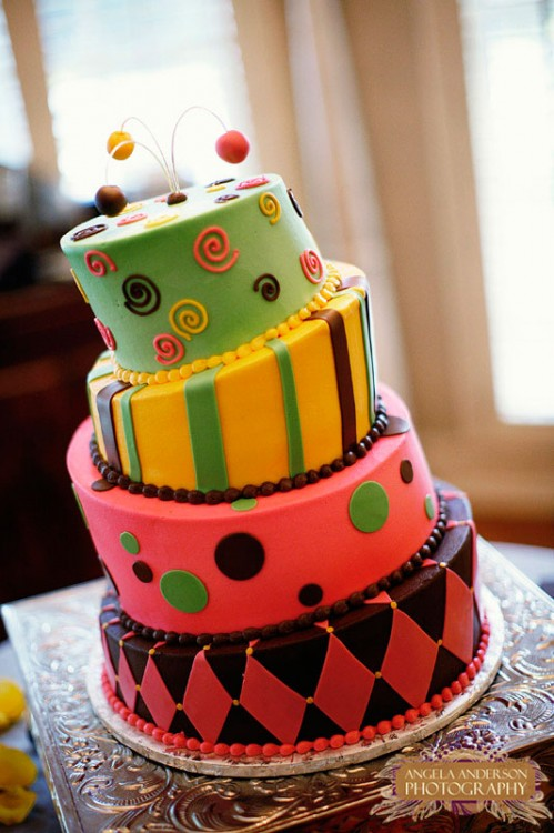 Mad Hatter Wedding Cake - Elizabeth Anne Designs: The Wedding Blog