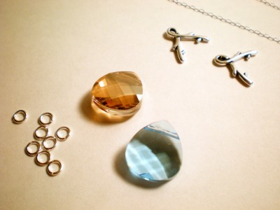 diy bridesmaids necklace