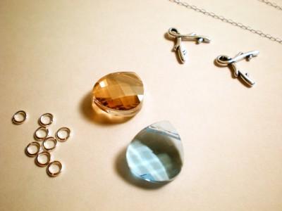 diy bridesmaids necklace