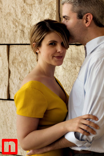 getty museum engagement session