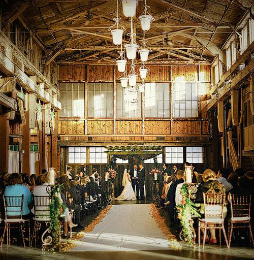 Seattle Sodo Park Barn Wedding