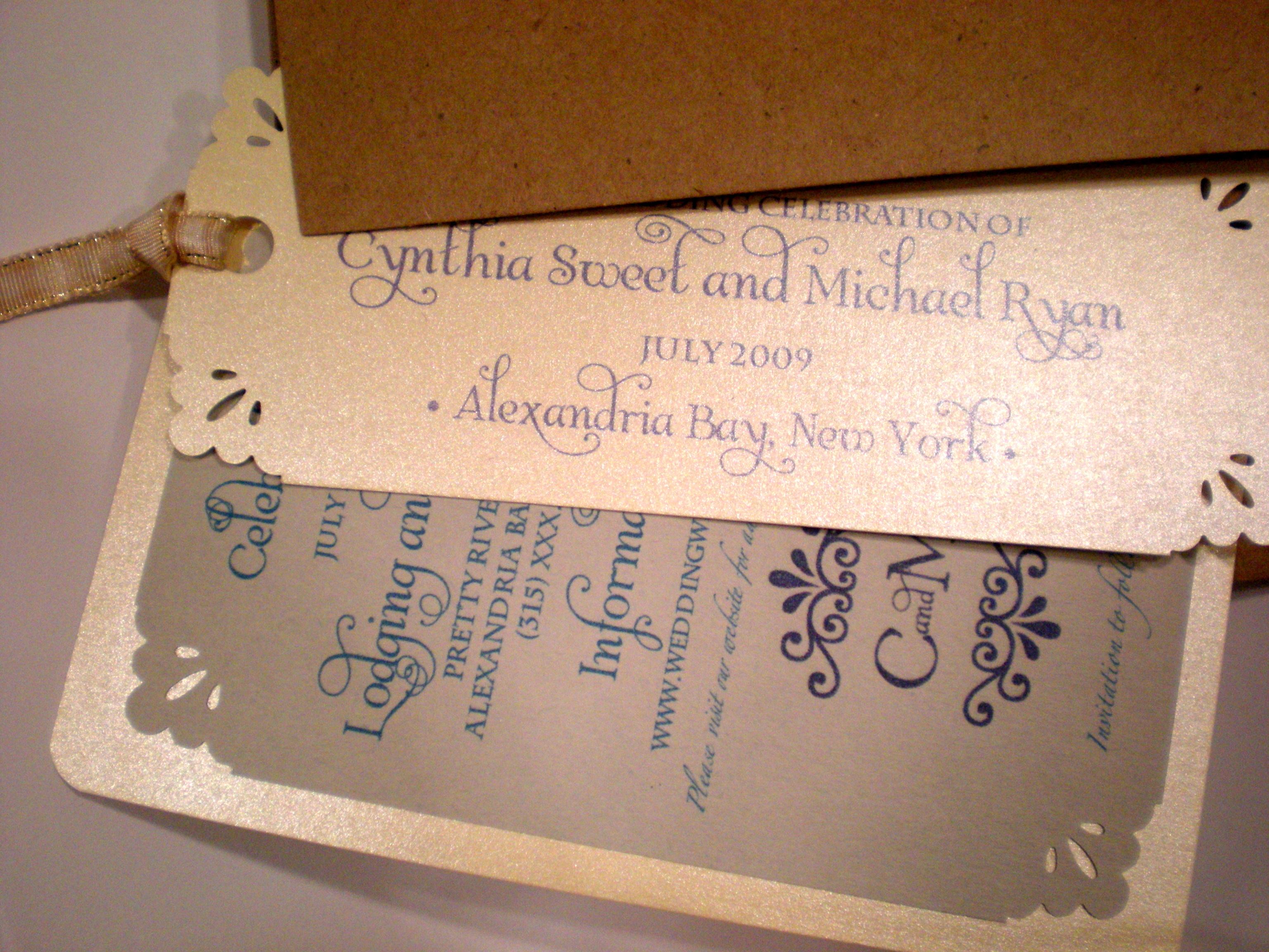 wedding bookmark Exolabogados