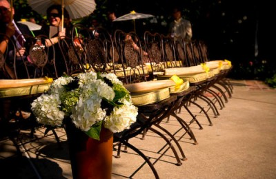 chair cushions for outdoor wedding