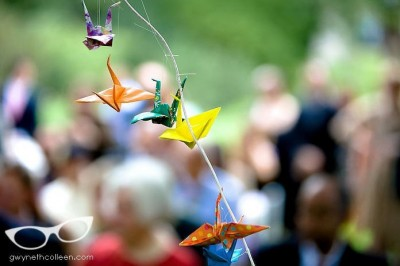 handmade-origami-cranes-wedding-ceremony