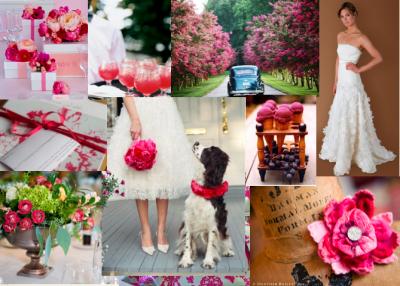 Pink Inspiration Board