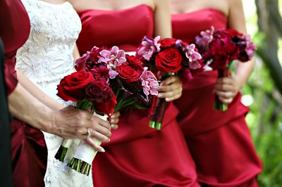 raspberry-bridesmaids-gowns