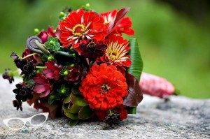 red-green-brown-bouquet