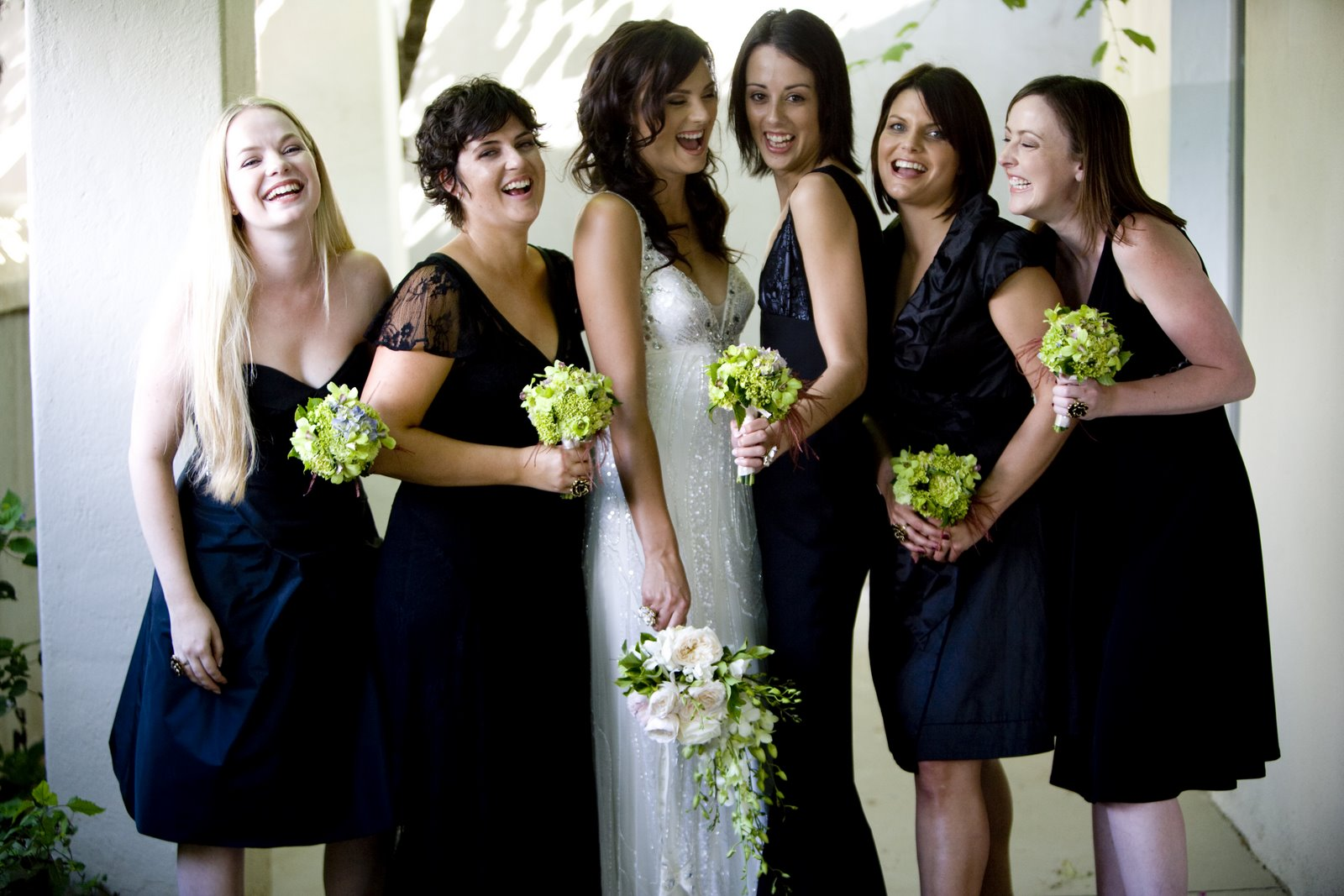 Can You Wear Black To A Wedding Reception Gallery The Maids Elizabeth Anne Designs