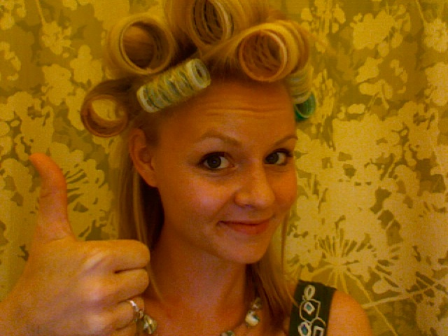 Before And After With Velcro Rollers Hairstylegalleries Com