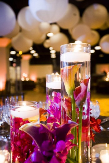 submerged flower centerpieces. submerged-orchid-centerpiece